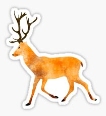 Deer Watecolor Sticker