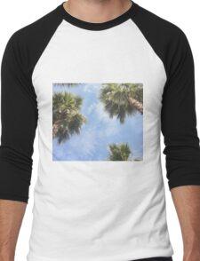 The sun and the palms Men's Baseball ¾ T-Shirt