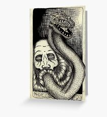 The Chamber of Secrets Greeting Card