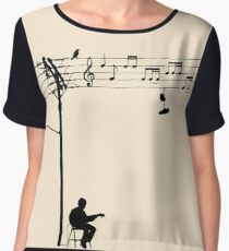 Wired Sound Chiffon Top