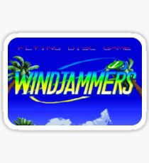 Windjammers (Neo Geo Title Screen) Sticker