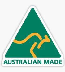 Australian made kangaroo straya Sticker