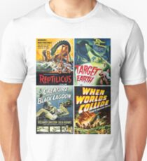 Sci-Fi Movie Poster Collection #6 Unisex T-Shirt