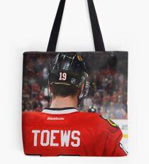 Jonathan Toews Tote Bag