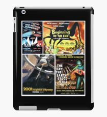 Sci-Fi Movie Poster Art Collection #7 iPad Case/Skin
