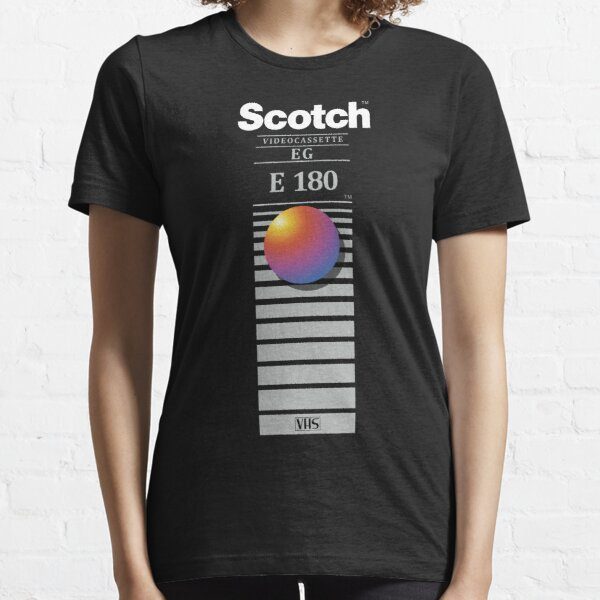 """Re-record, not fade away"" - Scotch VHS Essential T-Shirt"