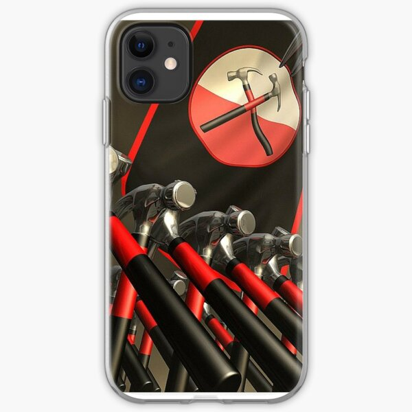 ...and the hammers batter down your door! iPhone Soft Case