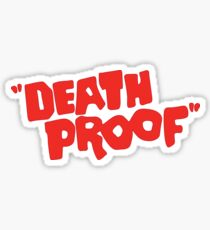 Death Proof  Sticker