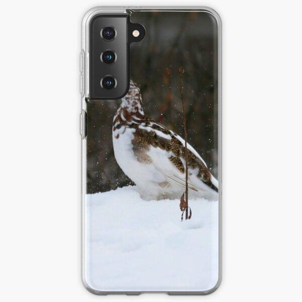 Willow Ptarmigan - Alaska State Bird Samsung Galaxy Soft Case