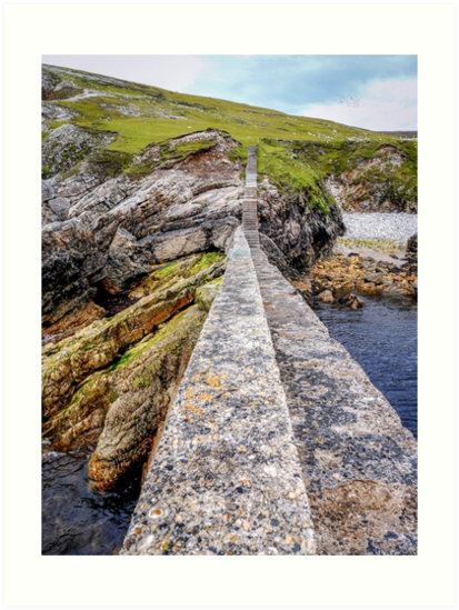 An Port Stairs - County Donegal, Ireland by Lexa Harpell