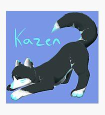 Kazen the wolf :D Photographic Print