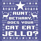 Ugly Christmas Vacation Sweater - Jello by Janelle Wourms