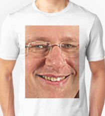 a big, blurry jpeg of stephen harper Unisex T-Shirt