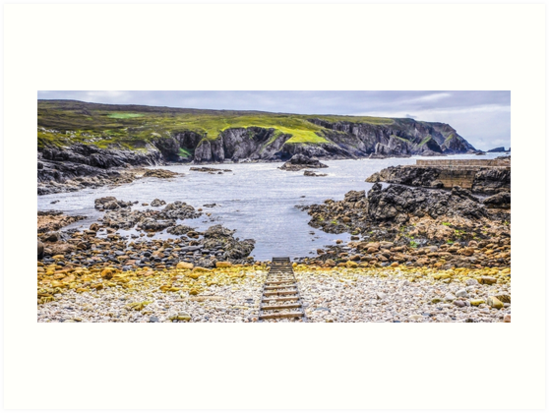 An Port Seascape - County Donegal, Ireland by Lexa Harpell