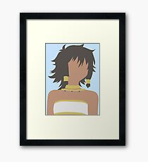 Tiona Hiryute (Danmachi / Is It Wrong to Try to Pick Up Girls in a Dungeon) Framed Print