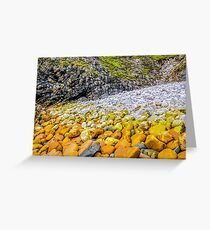 Rockscape of An Port - County Donegal, Ireland Greeting Card