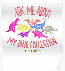 Dino Collection 1989 Poster