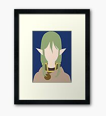 Riveria Ljos Alf (Danmachi / Is It Wrong to Try to Pick Up Girls in a Dungeon) Framed Print
