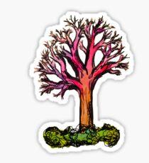 Colorful Tree Sticker