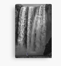 Iceland - Skógafoss Waterfall Canvas Print