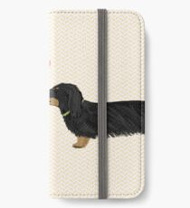 Vinilo o funda para iPhone Dachshunds Love