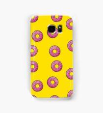 Pink donut Samsung Galaxy Case/Skin