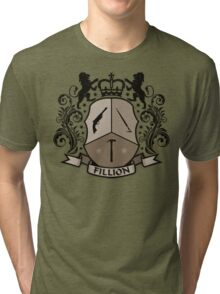 Fillion Character Crest Tri-blend T-Shirt
