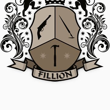 Fillion Character Crest by BoomShirts