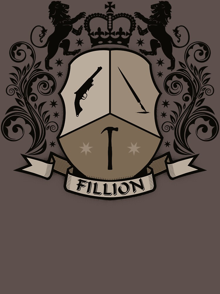 Fillion Character Crest | Unisex T-Shirt