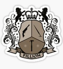 Fillion Character Crest Sticker