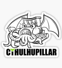 A very hungry Cthulhupillar Sticker