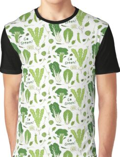 Go Green! (Leafy Green!) Graphic T-Shirt
