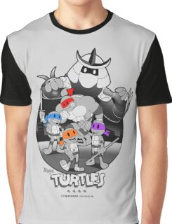 Old School Turtles Graphic T-Shirt