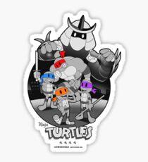 Old School Turtles Sticker