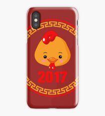 2017 Year of The Rooster iPhone Case