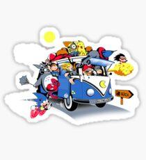 Summer Van Sticker