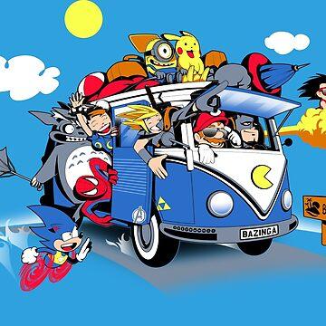 Summer Van by javiclodo