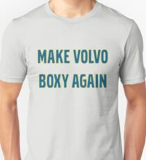 Make Volvo Boxy Again T-Shirt