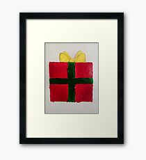 Present for Christmas Framed Print