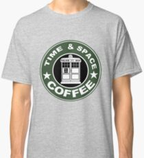 COFFEE: TIME AND SPACE Classic T-Shirt
