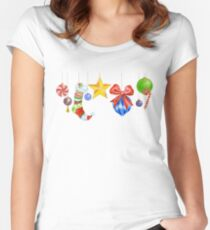 Sparkle & Candy Women's Fitted Scoop T-Shirt