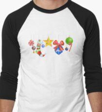 Sparkle & Candy Men's Baseball ¾ T-Shirt