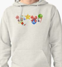 Sparkle & Candy Pullover Hoodie