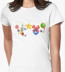 Sparkle & Candy Fitted T-Shirt