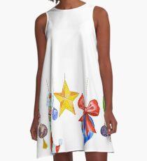 Sparkle & Candy A-Line Dress