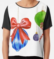 Sparkle & Candy Chiffon Top