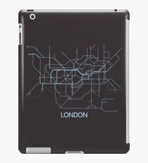 Minimal Tube Map iPad Case/Skin