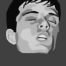 Ian Curtis Head Design by KnightsOfShame