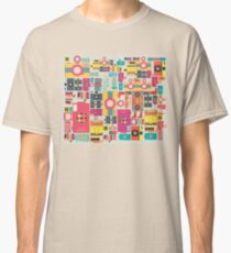 VIntage camera pattern wallpaper design Classic T-Shirt