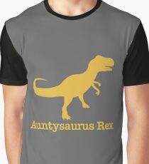 Auntysaurus Rex Aunt Shirt Mother's Graphic T-Shirt